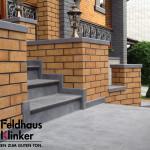 268 Клинкерная плитка Feldhaus Klinker вид 3